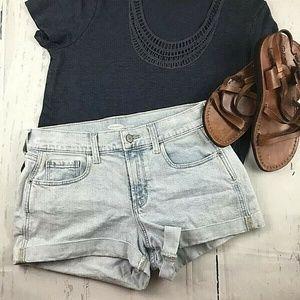 Old navy light blue Shorts size 2